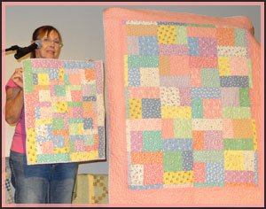 quilt and quilt